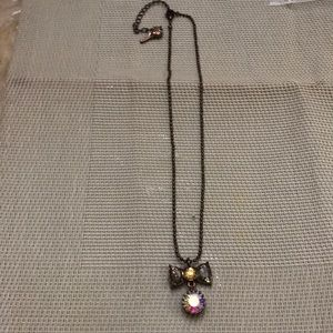 Betsey Johnson necklace bow